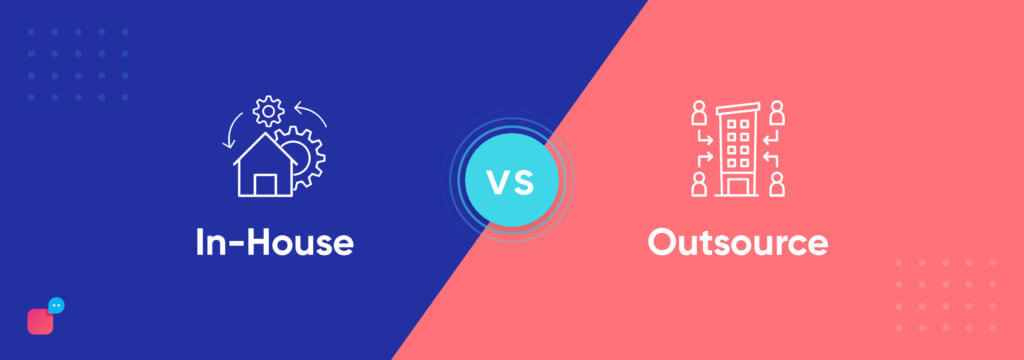 in house vs outsource