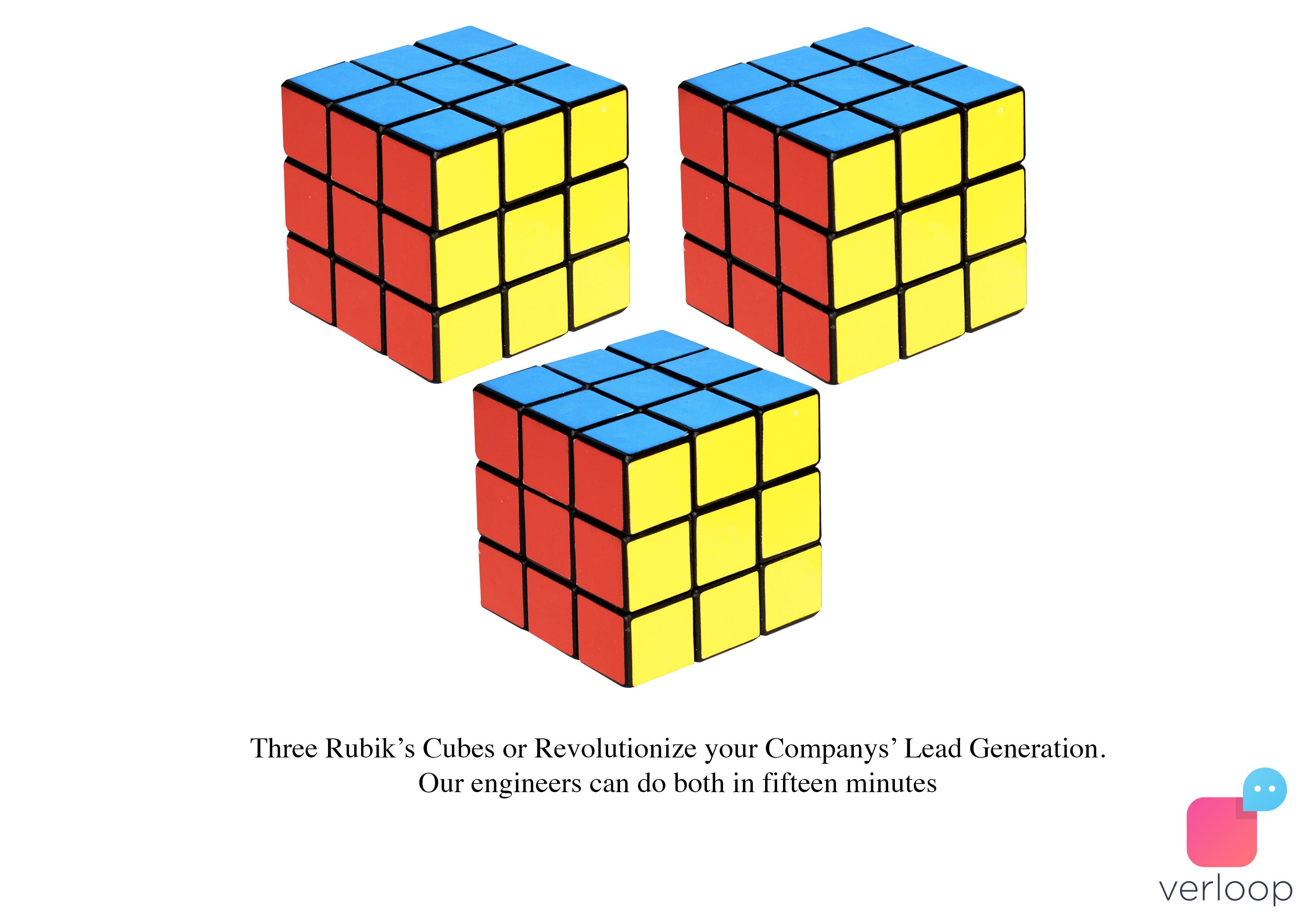 rubiks cube business