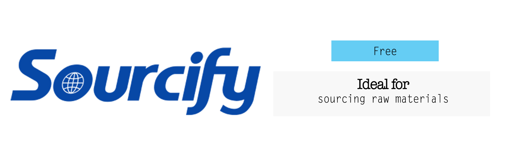 sourcify raw materials