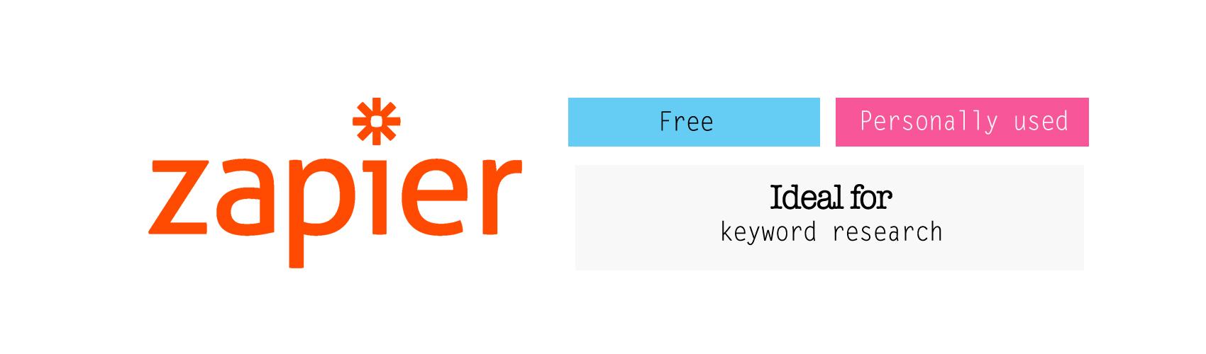 zapier keyword research