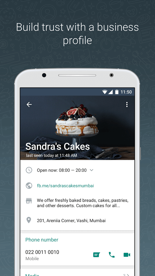 small companies can add their business details on WhatsApp