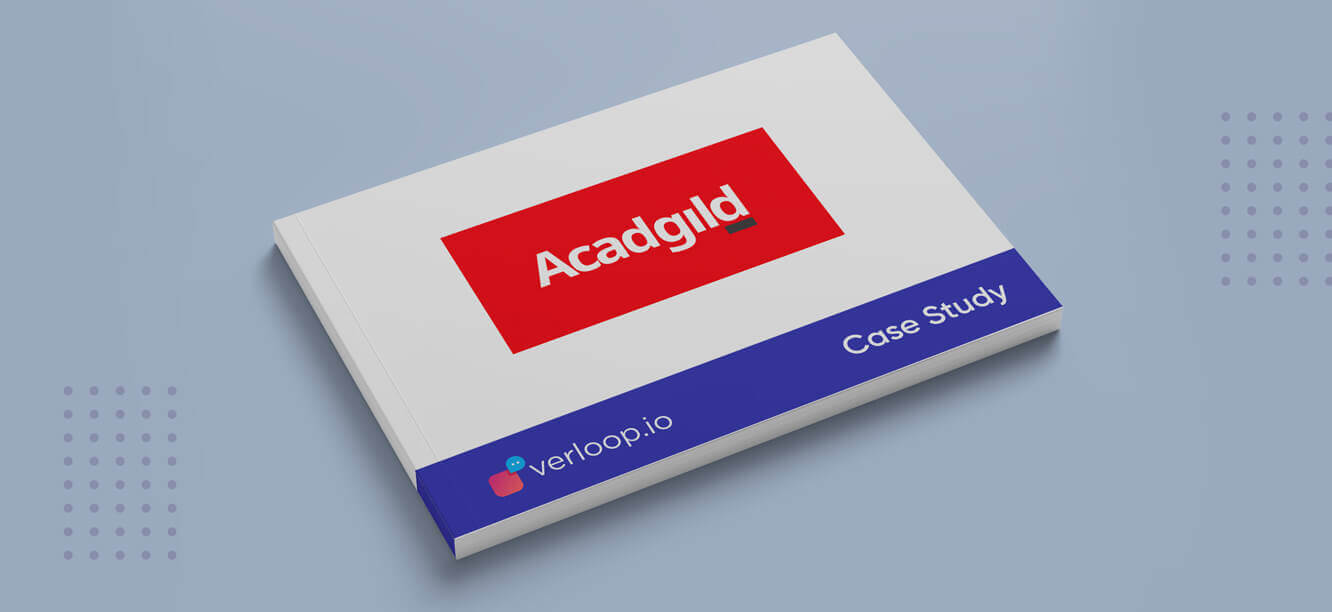 AcadGild Increased Its Overall Conversion Rates By 240% Using Verloop.io's Live Chat