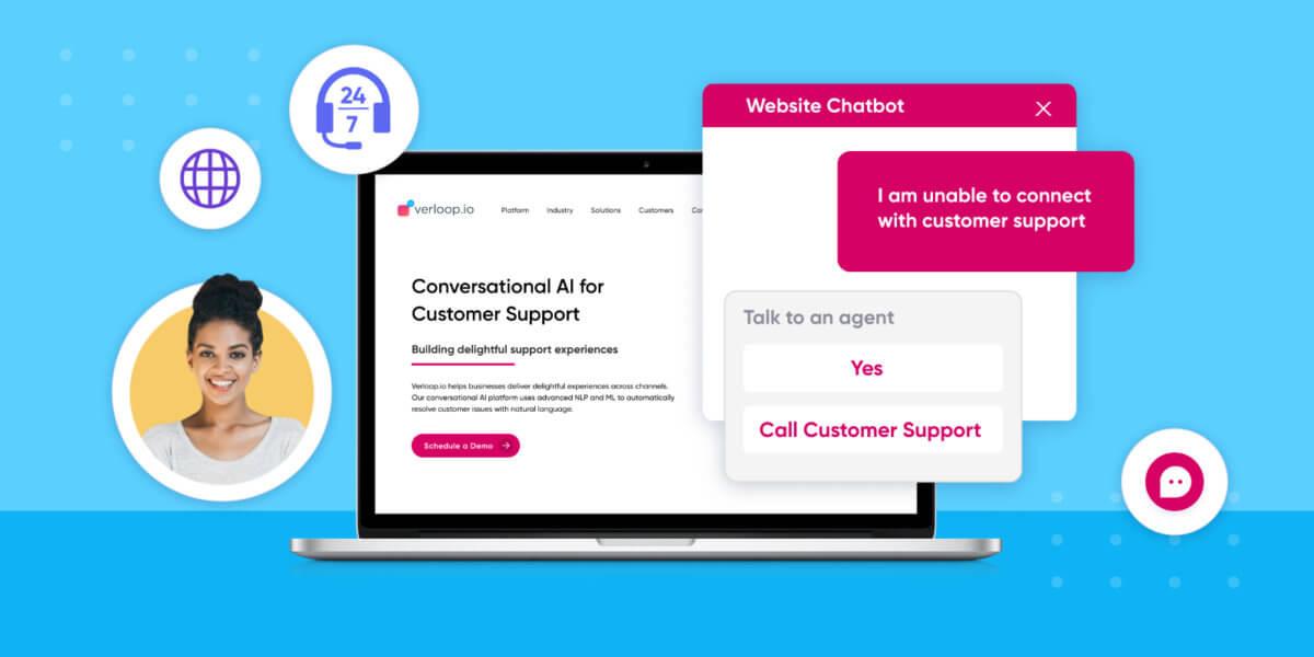 chatbots on website