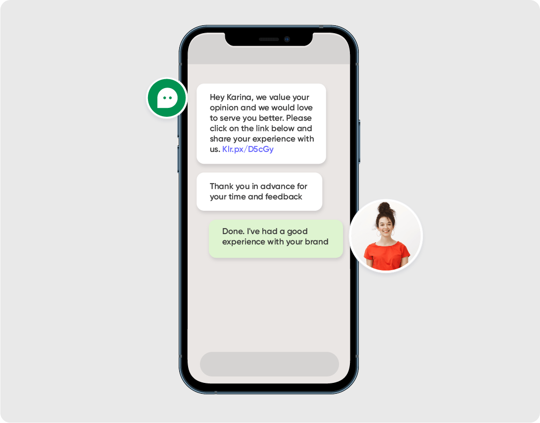 Collect Customer Reviews