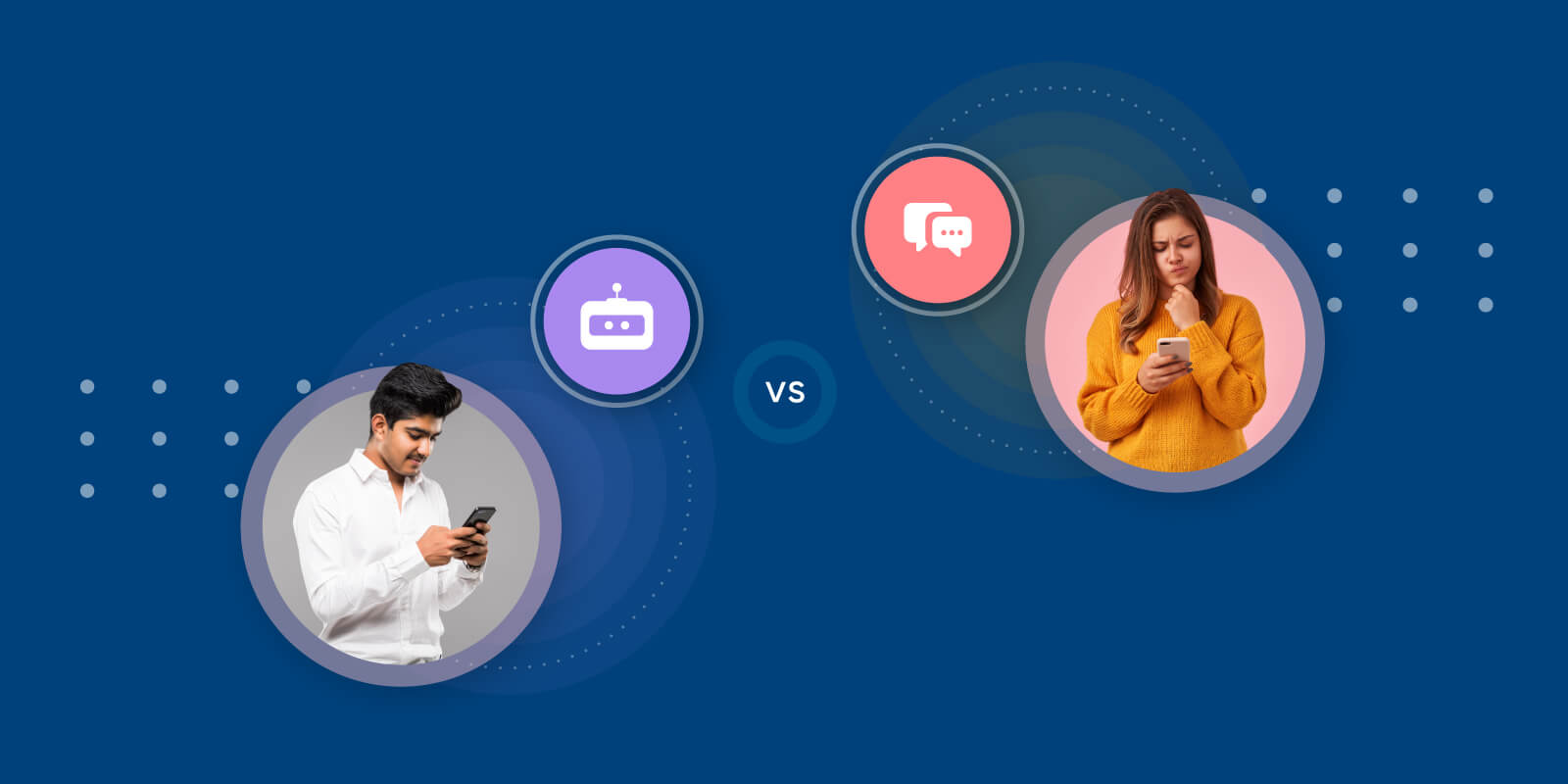 key differences between conversational AI and chatbots