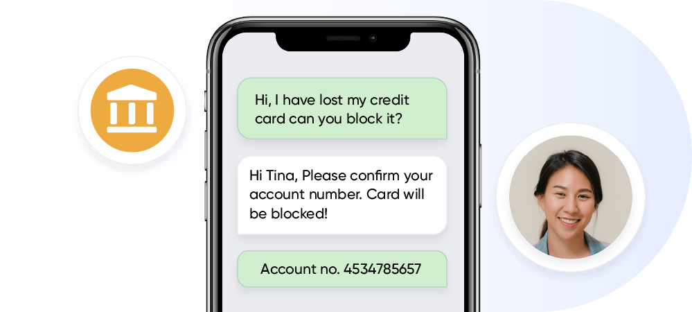 conversational support in banking