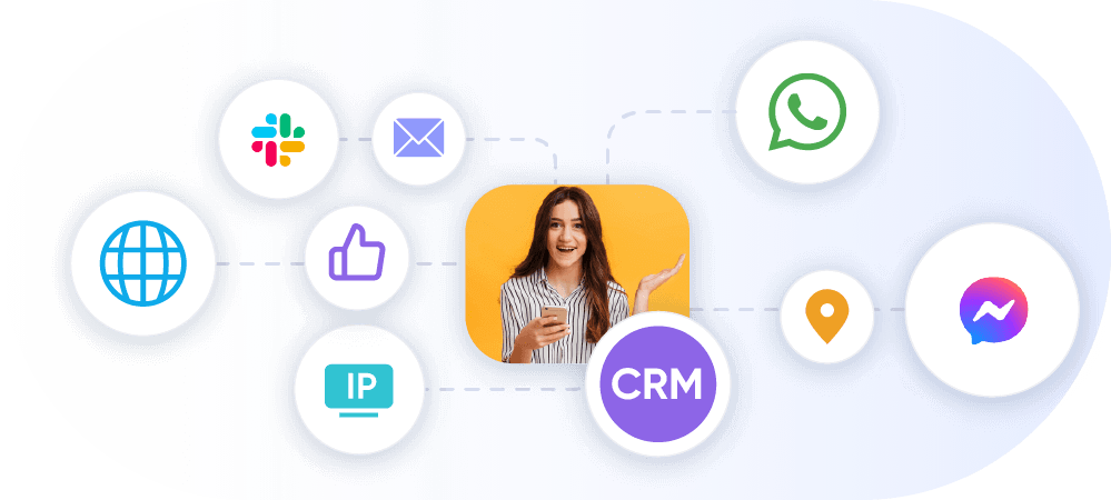 add personalisation to messages