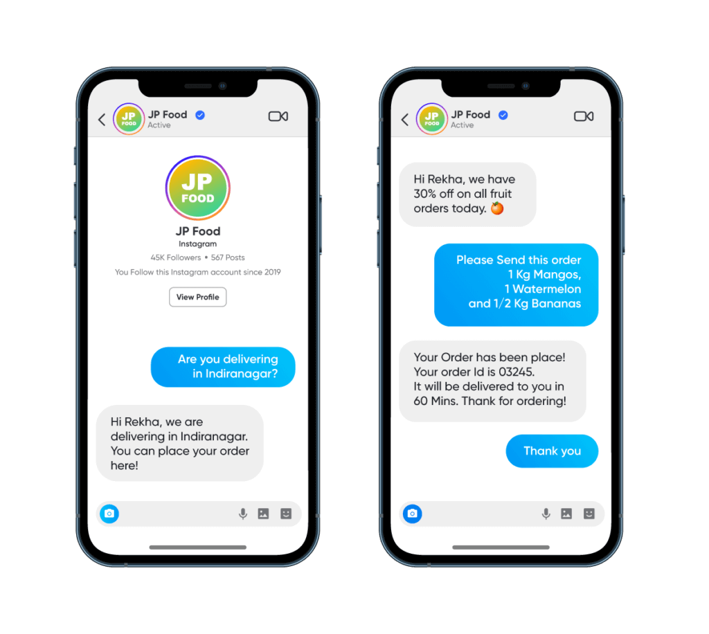 Instagram Messaging API for customer support