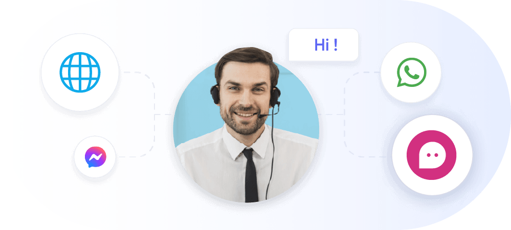 transfer chat to live agent