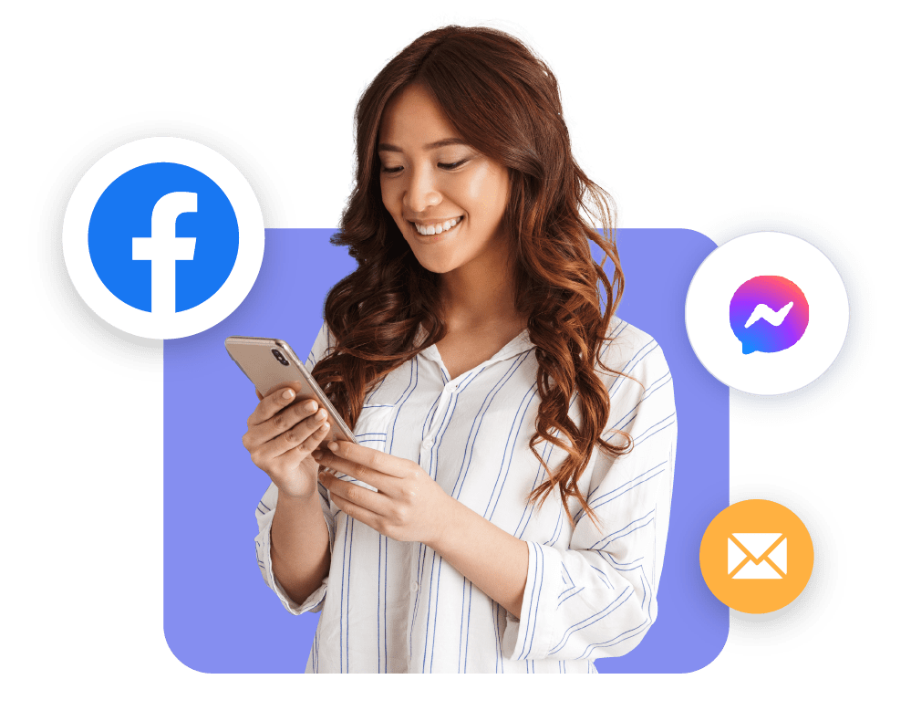 interact with customers of facebook messenger