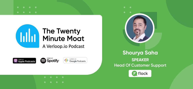 The Twenty Minute Moat podcast Shourya Saha