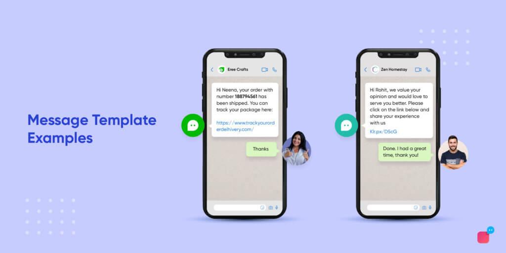 WhatsApp Business API templates
