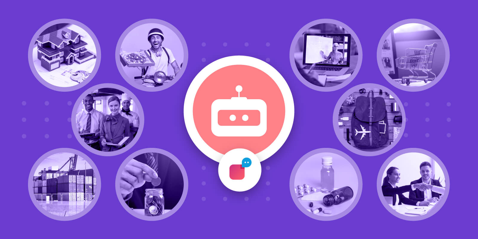 industries that use chatbots