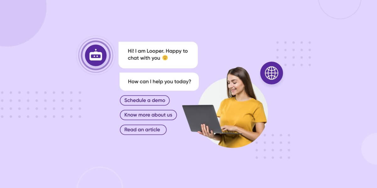 Website chatbot examples
