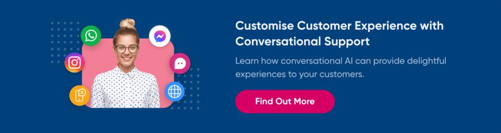 website chatbot customer support demo
